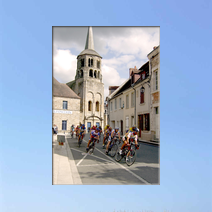 Cycle race in Creuse
